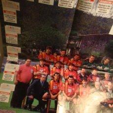 Coleccionismo deportivo: FUTBOL POSTER JUEGO ESPAÑA LA VERDAD. Lote 49143555
