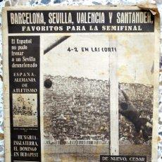 Coleccionismo deportivo: PERIODICO OLIMPIA SEMANARIO 1954 FUTBOL VINTAGE.FC BARCELONA ATHLETIC CLUB BILBAO COPA.TENIS GODO. Lote 49220108