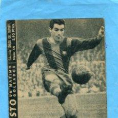 Coleccionismo deportivo: COLECCION IDOLOS DEL DEPORTE // EVARISTO Nº 44. Lote 49481259