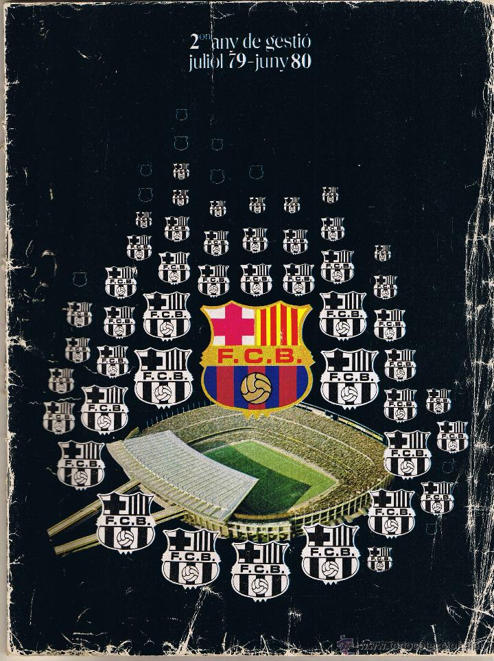 2 ANYS DE GESTIO FC BARCELONA 1979-80 (Coleccionismo Deportivo - Revistas y Periódicos - otros Fútbol)