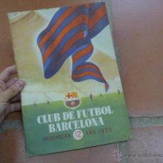 Coleccionismo deportivo: ANTIGUA REVISTA CLUB DE FUTBOL BARCELONA, 1955, BARÇA. Lote 49719358