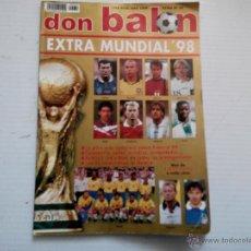 Coleccionismo deportivo: REVISTA DON BALON EXTRA MUNDIAL 98. Lote 49725110