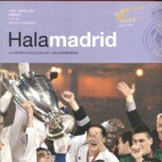 Coleccionismo deportivo: HALA MADRID- LA REVISTA EXCLUSIVA DE LOS MADRIDISTAS JUNIO AGOST 2002 83PAG. LE482. Lote 49748085