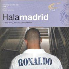 Coleccionismo deportivo: HALA MADRID- LA REVISTA EXCLUSIVA DE LOS MADRIDISTAS SETIEMBRE NOVIEMBRE 2002 82PAG. LE483. Lote 49748151