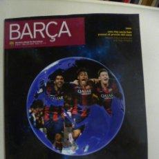 Coleccionismo deportivo: REVISTA BARÇA 2014 Nº 73. Lote 50044253