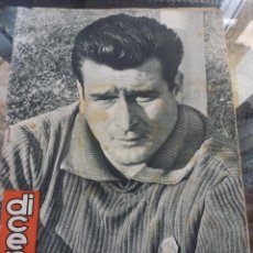 Collectionnisme sportif: DICEN Nº:276 (8-2-58) SOLER,GUARDAMETA R.C.D.ESPAÑOL. Lote 50307894