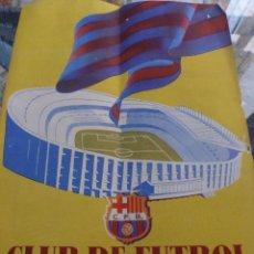 Coleccionismo deportivo: BOLETIN F.C.BARCELONA 1956-BARÇA,CAMP NOU EN MARCHA,PUBLICIDAD ELECTROFIL-FOTOS. Lote 50308387