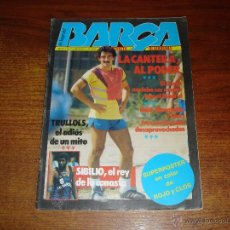 Coleccionismo deportivo: REVISTA BLAUGRANA: LA SAGA DEL BARCA Nº15, MARZO 1984 (INCLUYE POSTER DE ROJO Y CLOS). Lote 50437912