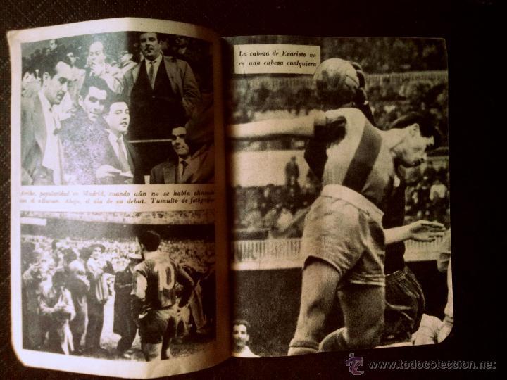 Coleccionismo deportivo: Número 44 colección Idolos del deporte EVARISTO - Foto 3 - 50465808