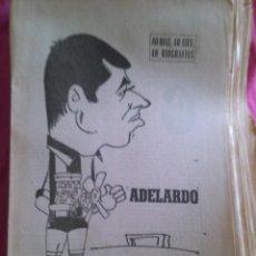 Coleccionismo deportivo: ADELARDO. SUPLEMENTO BIOGRAFÍA DE FÚTBOL DE MARCA. 1966. Lote 50472281