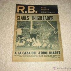 Coleccionismo deportivo: R.B., REVISTA BARCELONISTA , NUMERO 607 . . Lote 50537437