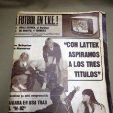 Coleccionismo deportivo: REVISTA DICEN, JULIO 1981, Nº 5093, FC BARCELONA, BARÇA, MARADONA, YA ESTA COMPROMETIDO, USA. Lote 50655832