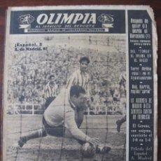 Coleccionismo deportivo: SEMANARIO DEPORTIVO; OLIMPIA Nº 11 AÑO 1952. Lote 50791490