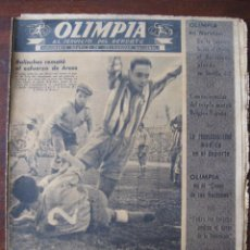 Coleccionismo deportivo: SEMANARIO DEPORTIVO, OLIMPIA. Nº 28. 19. Lote 50791627