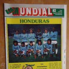 Coleccionismo deportivo: FUTBOL REVISTA MUNDIALISTA EROTICA MUNDIAL 82 - 1982 - GRAN POSTER HONDURAS. Lote 50919658