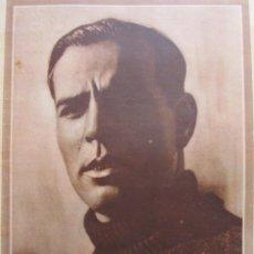 Coleccionismo deportivo: FOTO REVISTA PORTADA 1932 - RICARDO ZAMORA EL REAL MADRID ES CAMPEON - 1 PAG.. Lote 51103306