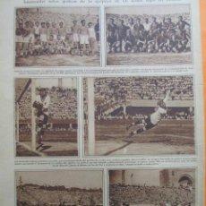 Coleccionismo deportivo: ARTICULO 1930 - ESPAÑA CONTRA ITALIA RICARDO ZAMORA. Lote 51127726