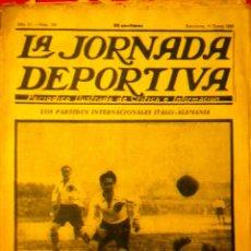 Coleccionismo deportivo: LA JORNADA DEPORTIVA NÚMERO 100 GIORNALE SCELTA DI GIOCHI DEL CALCIO ITALIANO SVIZZERA GERMANIA. Lote 71754405