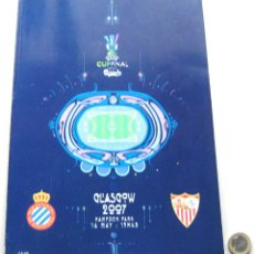 Coleccionismo deportivo: PROGRAMA REVISTA SEVILLA FC VS RCD ESPANYOL FINAL UEFA CUP EUROPA 2007 OFICIAL. Lote 51195749
