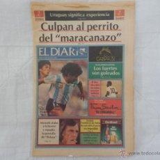 Coleccionismo deportivo: DIARIO DE CARACAS 11/03/1986 (SUPLEMENTO PREVIO MUNDIAL MEXICO 86). Lote 51362454