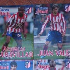 Coleccionismo deportivo: LOTE 4 REVISTAS FORZA ATLETI ATLETICO MADRID NUMEROS 84-95-105-110. Lote 51454120