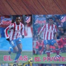 Coleccionismo deportivo: LOTE 4 REVISTAS FORZA ATLETI ATLETICO MADRID NUMEROS 87-90-91-133. Lote 51454160