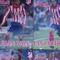Coleccionismo deportivo: LOTE 4 REVISTAS FORZA ATLETI ATLETICO MADRID NUMEROS 103-108-113-115. Lote 51454256