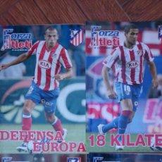 Coleccionismo deportivo: LOTE 4 REVISTAS FORZA ATLETI ATLETICO MADRID NUMEROS 96-106-125-127. Lote 51454273