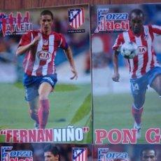 Coleccionismo deportivo: LOTE 4 REVISTAS FORZA ATLETI ATLETICO MADRID NUMEROS 53-82-130-133. Lote 51454284