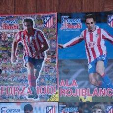 Coleccionismo deportivo: LOTE 4 REVISTAS FORZA ATLETI ATLETICO MADRID NUMEROS 100-121-124-128. Lote 51454298