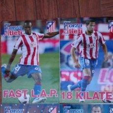 Coleccionismo deportivo: LOTE 4 REVISTAS FORZA ATLETI ATLETICO MADRID NUMEROS 96-117-125-127. Lote 51454308