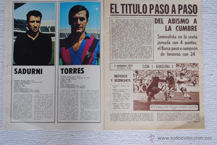 Coleccionismo deportivo: DIARIO DICEN CAMPEON DE COPA 1974 - Foto 3 - 51508127