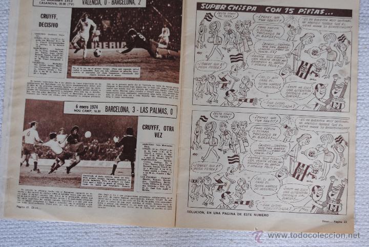 Coleccionismo deportivo: DIARIO DICEN CAMPEON DE COPA 1974 - Foto 5 - 51508127