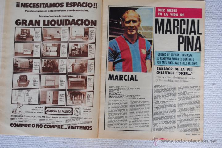 Coleccionismo deportivo: DIARIO DICEN CAMPEON DE COPA 1974 - Foto 6 - 51508127