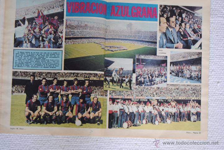 Coleccionismo deportivo: DIARIO DICEN CAMPEON DE COPA 1974 - Foto 7 - 51508127