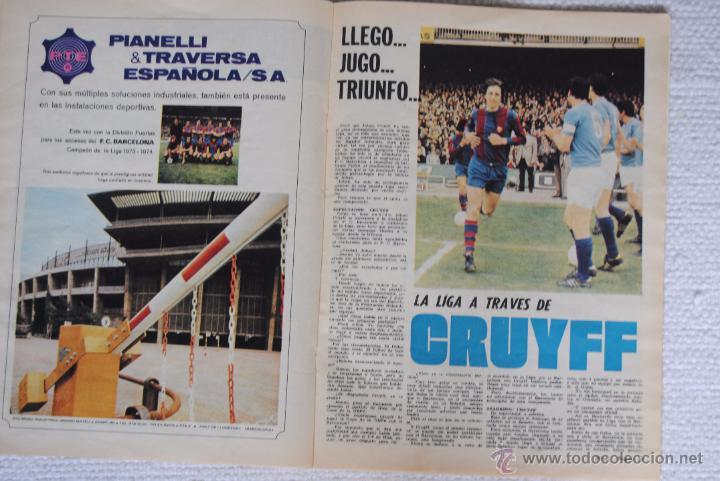 Coleccionismo deportivo: DIARIO DICEN CAMPEON DE COPA 1974 - Foto 8 - 51508127