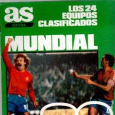 Coleccionismo deportivo: AS EXTRA MUNDIAL 82. Lote 51533306
