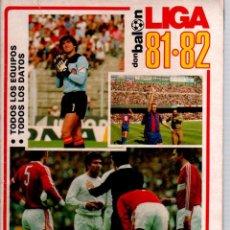 Coleccionismo deportivo: DON BALON EXTRA DE LA LIGA 81/82. Lote 51533369