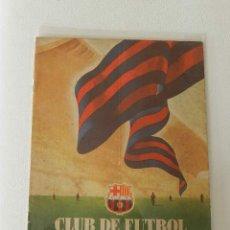 Coleccionismo deportivo: LOTE 8 REVISTAS CLUB DE FUTBOL BARCELONA AÑOS 50 . MUY COMERCIAL. Lote 51559220