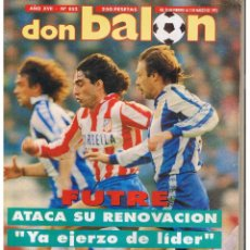 Colecionismo desportivo: DON BALÓN. Nº 852. FUTRE, ATACA SU RENOVACIÓN. POSTER: KIKO. MARZO 1992. (P/B8). Lote 51560944