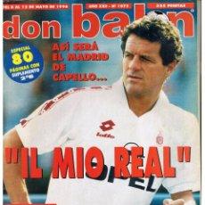 Coleccionismo deportivo: DON BALÓN. Nº 1073. POSTER: HERCULES. 12 MAYO 1996. (P/B8). Lote 51561942