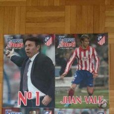 Coleccionismo deportivo: LOTE 4 REVISTAS FORZA ATLETI ATLETICO MADRID NUMEROS 99 110 131 133. Lote 51599160