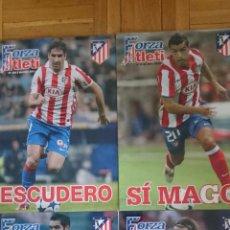 Coleccionismo deportivo: LOTE 4 REVISTAS FORZA ATLETI ATLETICO MADRID NUMEROS 129 83 103 109. Lote 51599161