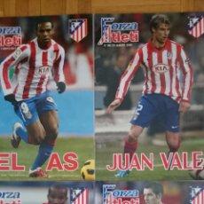 Coleccionismo deportivo: LOTE 4 REVISTAS FORZA ATLETI ATLETICO MADRID NUMEROS 110 87. Lote 51599205