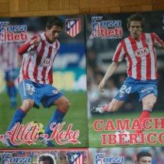 Coleccionismo deportivo: LOTE 4 REVISTAS FORZA ATLETI ATLETICO MADRID NUMEROS 132 94 100 131. Lote 51599234