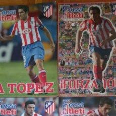 Coleccionismo deportivo: LOTE 4 REVISTAS FORZA ATLETI ATLETICO MADRID NUMEROS 100 87 131 132. Lote 51599245