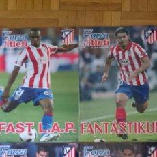 Coleccionismo deportivo: LOTE 4 REVISTAS FORZA ATLETI ATLETICO MADRID NUMERO 115 127 102 104. Lote 51599415