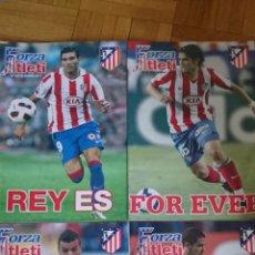 Coleccionismo deportivo: LOTE 4 REVISTAS FORZA ATLETI ATLETICO MADRID NUMERO 126 65 106 113. Lote 51599428