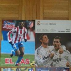 Coleccionismo deportivo: LOTE 3 REVISTAS FORZA ATLETI 1 GRADA BLANCA REAL MADRID ATLETICO MADRID CAMPEONES. Lote 51599461