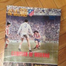 Coleccionismo deportivo: REVISTA ATLETICO MADRID NUMERO 65 LIGA 1975 1976 CAMPEON DE INVIERNO GOLES MIGUEL ANGEL REAL MADRID. Lote 51606257